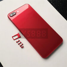 Special Red Housing Back Glass Metal Frame Replacement for iPhone 8 Plus Red