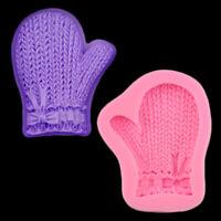 Glove Shape Chocolate Candy 3D Silicone Mold Cartoon Image Cake Baking Tool JF