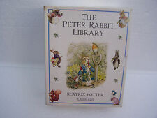 peter rabbit library 10 hard back book set  f warne and co