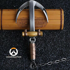 Hot Game Overwatch Roadbuster Roadhog Mako Skin Hook Weapon Model Collectible