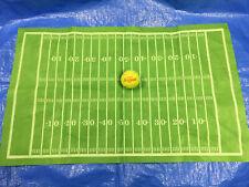 "32"" x 20"" Green Felt Football Field for Football Action Figures Models"