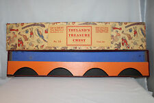 1920's Dent #711 Cast Iron Train Set Original Box with Insert