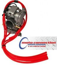 HONDA CRF150 CRF150R 07-16 MOTOCROSS  5 PIECE CARB MBO HOSE KIT - RED