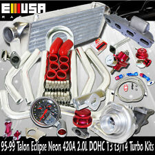 T3/T4 Turbo Kits for 95-99 Mitsubishi Eclipse RS Hatchback 2D 420A 2.0T3 Flange
