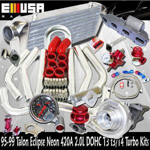 T3/T4 Turbo Kits for 95-99 Mitsubishi Eclipse RS Hatchback 2D 420A 2.0T3 Flange