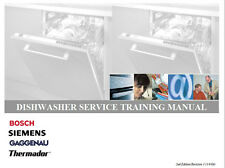 One Of Various Bosch Dishwasher Service/Repair Manuals