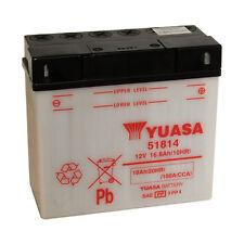 Batterie Moto Yuasa 51814  12V 18AH 100A 186X82X171MM ACIDE OFFERT