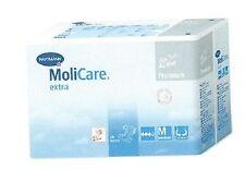 "Case of 90 Molicare Tab Closure Disposable Briefs, Medium (35"" to 47""),Hvy Abs"