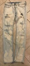 Express Acid Wash Ripped Jeans 6
