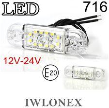 LED Umrissleuchte Standlicht Positionsleuchte Posileuchte 12V 24V ABE Tüv 716