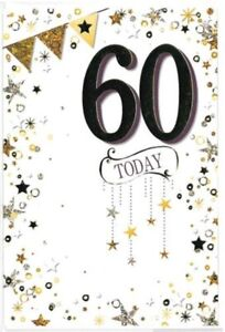 60 Today Birthday Card. 60 Today Birthday Card For Male