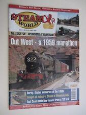 STEAM WORLD Magazine Vol.130. April 1998. Steam Railway Collectable.