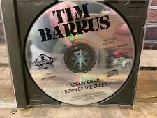 Rockin Chair / Down By The Creek by Tim Barrus (CD, PROMO Single)