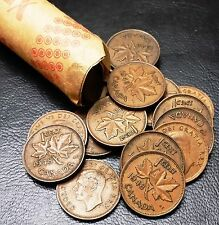 Roll of 50x 1948 Canada Small Cents (Penny) ***GREAT CONDITION*** King George VI