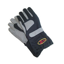 X-Line Black Kart Gloves Small Clearance Racewear Fantastic Value