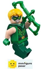 sh153 Lego DC Super Heroes 76028 - Green Arrow Minifigure with Bow - New
