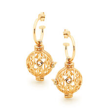 Perfumed Jewelry - Harmony Gold Perfumed Earrings - World's Most Perfect Gift