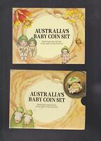 1994 Baby UNC Coin Set Gumnut Series Australia with wide date 50 cent W-619