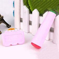 DIY Image Polish Pink Sided Stamping Tools Double Art Nail Scraper Stamper