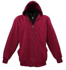 Lavecchia talla extragrande chaqueta Hoodie Sospechosovarón burdeos 3xl-4xl-5xl-6xl-7xl-8xl