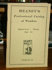 Heaney's Professional Catalog of Wonders; Magical Goods, Illusions, Stage Acts