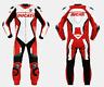 Ducati Motociclo Tuta Pelle Corsa Ciclista Gli Sport MotoGP Vestito Motocicletta