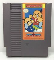Nintendo NES Kung Fu Heroes Video Game Cartridge *Authentic/Cleaned/Tested*