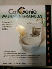 CatGenie Washable Granules for Self Washing Litter Box Litter Cat Toilet
