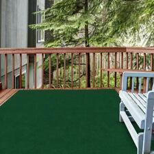 Outdoor Indoor Patio Rug Mat Large Carpet Porch Deck Rv Pool 6 x 8 Feet Green
