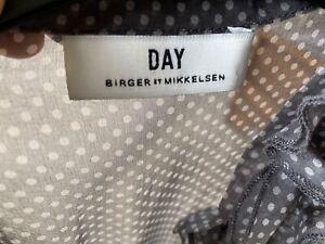 Day Birger et Mikkelsen silk polka dot dress size small