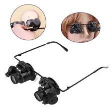 20x Headband Magnifier Jewellers Magnifying Glass Head Eye Led Lamp Lens Hot