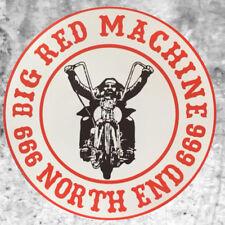 Support 81 Sticker Aufkleber Big Red Machine Rider 666 HAMC North End
