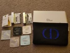 Dior - Cosmetic Bag + Make Up + Skincare + Fragrance Set - New Never Tested