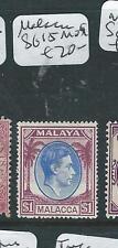 MALAYA MALACCA   (PP3007B) KGVI $1.00 SG15  MOG
