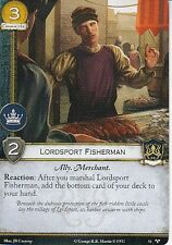 3 x Lordsport Fisherman AGoT LCG 2.0 Game of Thrones For Family Honor 51