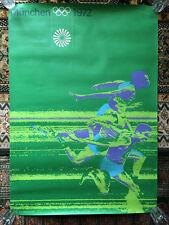 Munich München 1972 Olympic Games A0 poster print Sprint 100 m by Otl Aicher