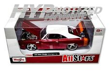 MAISTO 1:24 ALLSTARS 1969 DODGE CHARGER R/T RED 31091