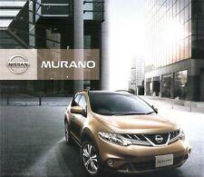 Prospekt / Brochure Nissan Murano 04/2011 +++JAPAN+++