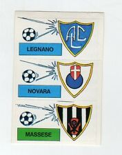 figurina CALCIO FLASH 1988 SCUDETTO LEGNANO, NOVARA, MASSESE