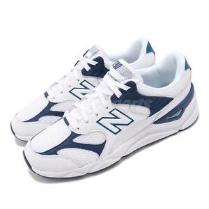 New Balance X-90 D White Blue Men Women Unisex Running Casual Shoe MSX90TBE D