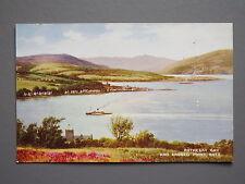 R&L Postcard: Valentine's Art Rothesay Bay & Ardbeg Point Bute, Scotland