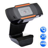 Webcam 1080p Autofocus Auto Focus Web Camera HD Cam For Desktop Laptop PC Mac