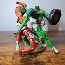 Marvel Legends Hulk She Hulk Alpha Flight Sasquatch Vindicator and Scorpion