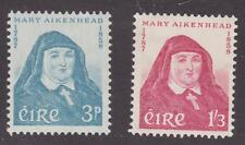 Ireland 1958 #167-68 Mother Mary Aikenhead (Set of 2) - MNH