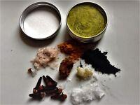 Natural Organic Toothpaste-Clove Tumeric coconut-Flouride SLS Cruelty Free-Vegan