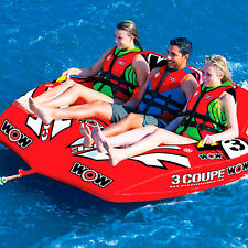 New listing Wow Watersports Wow Coupe Cockpit Towable Tube/Lounger - 3-Person