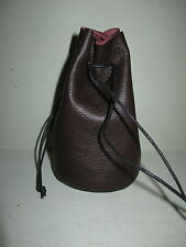 FB-2 DK BROWN FLAT BOTTOM BAG IDEAL FOR COINS, GEMS OR MARBLES SHIP FREE IN USA