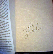 JIMMY CARTER LIVING FAITH Hand SIGNED FIRST EDITION 1996 HcDj Scripture Value VG