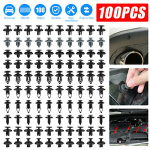 Car Door Panel Bumper Plastic Fastener Trim Body Clips Kit Rivet Retainer