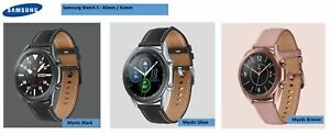 NEW Samsung GALAXY Watch3 SM-R840 Stainless  Smartwatch 41mm / 45mm - Wifi Only